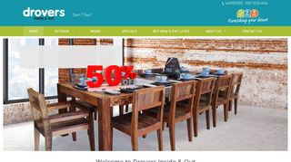 Drovers Outdoor Furniture