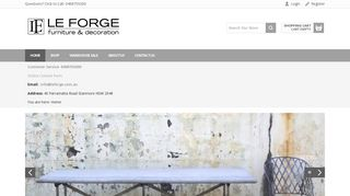 Le Forge Outdoor Furniture