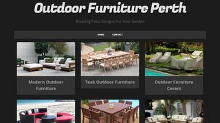 Outdoor Furniture Perth
