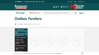 Bunnings Outdoor Bendigo
