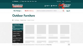 Bunnings Outdoor Canberra