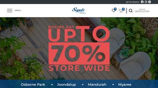 Segals Outdoor Furniture Perth