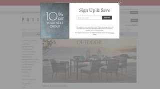 Pottery Barn Outdoor